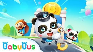 Little Panda Policeman | Game Preview | Educational Games for kids | BabyBus