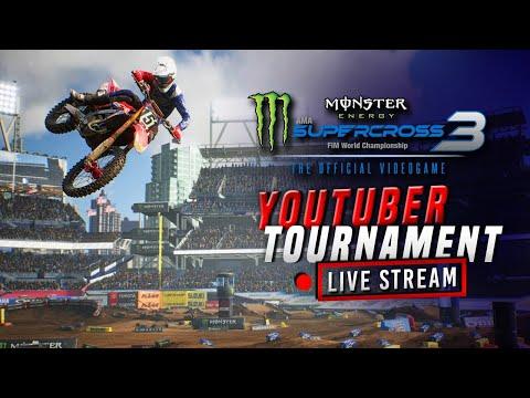 Monster Energy Supercross 3 – YouTuber Tournament – Team HRC Honda
