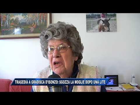 08/11/2017 - TRAGEDIA A GRADISCA D'ISONZO: SGOZZA LA MOGLIE DOPO UNA LITE