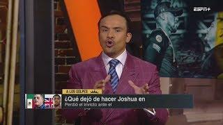 A LOS G0LPES [8 JUNIO 2019] ANDY RUIZ - MEXICANO SORPRENDE AL MUNDO