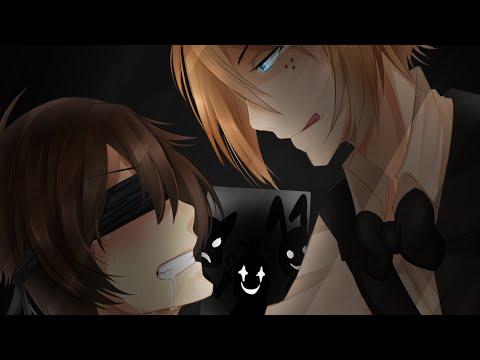 [Speedpaint]  Nightmare 01 -  Freddy X Mike [SAI] - YAOI WARNING-