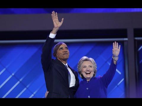 President Barack Obama at the 2016 Democratic National Convention in Philadelphia (07/27,/2016)