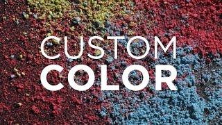 Stucco Colors | Pigments for Stucco, Plaster, Concrete by BLUE Concrete.