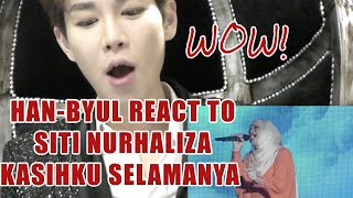 Speechless Han Byul REACTS TO Siti Nurhaliza Performance KASIHKU SELAMANYA