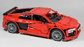 Audi R8 V10 (Second Generation) - LEGO Technic