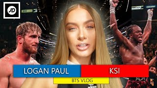 KSI vs LOGAN PAUL BTS! [LA VLOG]