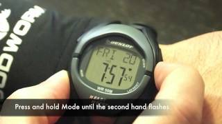 Dunlop Impact Combo Pack - Heart Rate Monitor Watch and Bonus Stopwatch