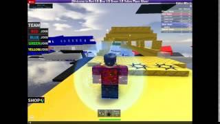 Let's Play ROBLOX: Red VS Blue VS Green VS Yellow Plane Wars!