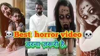 Best horror video I 👻 horror tik tok musically video I Funny video part 16