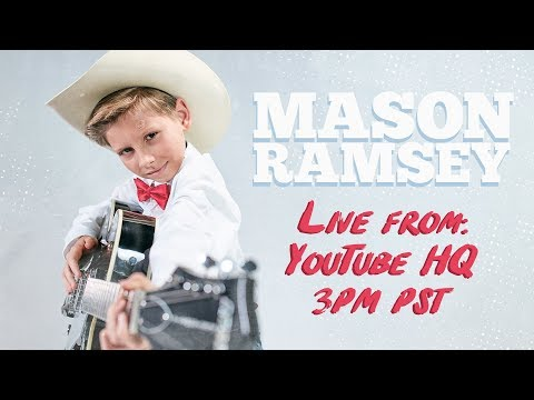 Mason Ramsey - LIVE At YouTube HQ