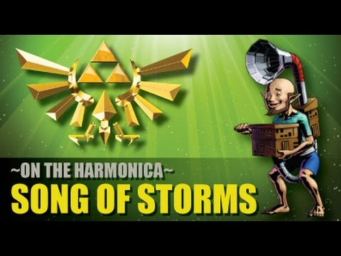 "Song of Storms"" Played on the Harmonica - YouTube"