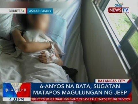 BP: 6-anyos na bata, sugatan matapos magulungan ng jeep sa Batangas thumbnail