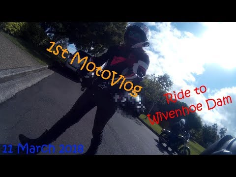 MotoVlog || 11th March | Ride to Wivenhoe Dam