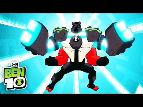 Ben 10 | Ben fights Vilgax and Zombozo | Cartoon Network