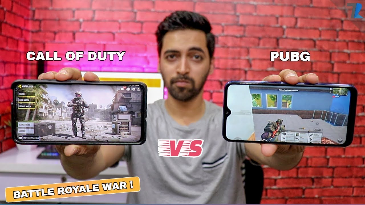 Call Of Duty Mobile vs PUBG Mobile - Which Is Better??????