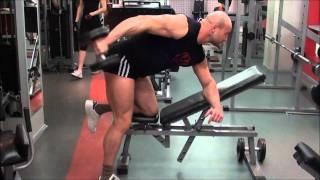 Комплекс упражнений с гантелями. Тренировка спины и трицепса дома и в зале.(Комплекс упражнений с гантелями. Тренировка спины и трицепса дома и в зале. Сделайте свое тело красивым..., 2011-02-25T00:06:27.000Z)