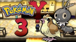Pokemon Y - Let's Play Pokemon Y German Part 3: Nouvaria City - Jetzt wird geskatet