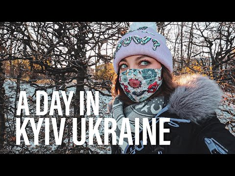 A DAY IN UKRAINE   Apartment & Grocery shopping in KYIV