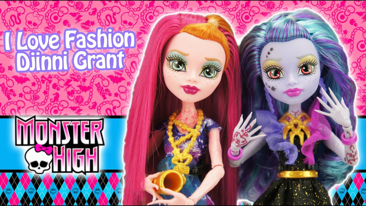 Monster High Djinni Whisp Grant I Love Fashion Doll Review ...