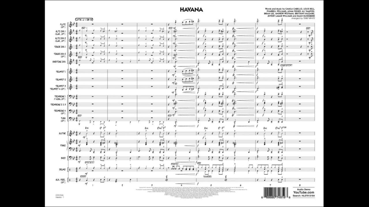 Havana arranged by Terry White