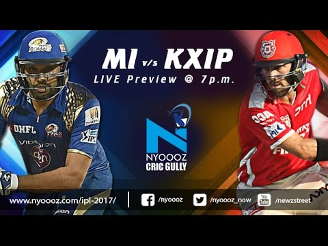 Live IPLT20 Mumbai Indians vs Kings XI Punjab Indian Premier League match preview on Cric Gully