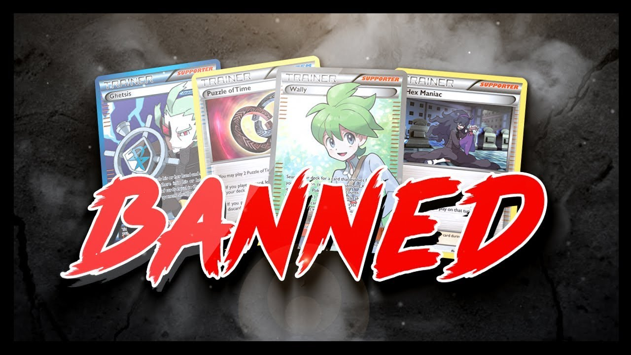 Updated 2019 Expanded Pokemon Ban List!
