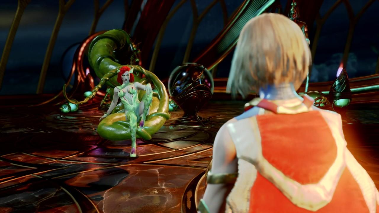 Injustice 2 Poison Ivy Vs Supergirl Youtube