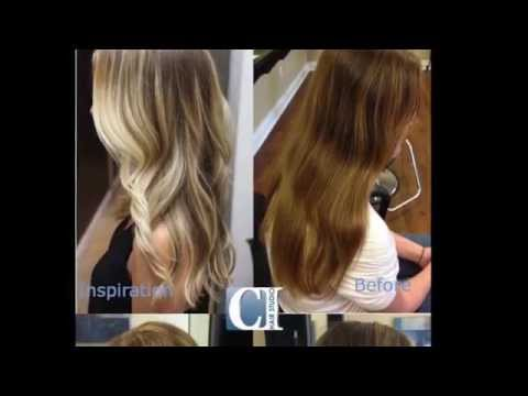 Balayage Hair Colour Transformation - CI Hair Studio