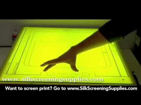 How to Screen Print - Print Prep - Screen Printing 101 DVD pt 24