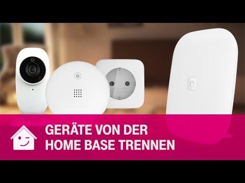 Social Media Post: Geräte von der Home Base trennen | Telekom Magenta SmartHome