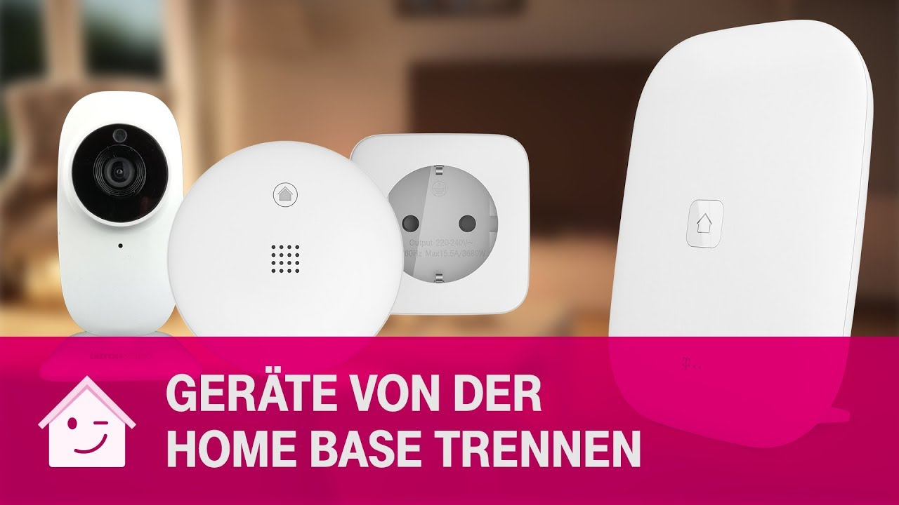 Gerate Von Der Home Base Trennen Telekom Magenta Smarthome Youtube