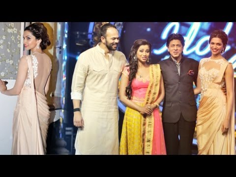 SRK And Deepika Padukone Promote Chennai Express On The Sets Of Indian Idol Junior