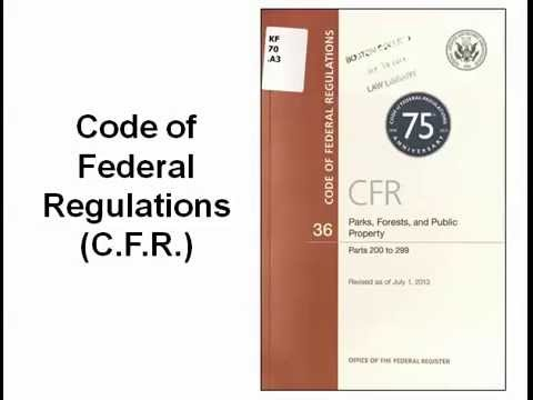 Code of Federal Regulations (2014)