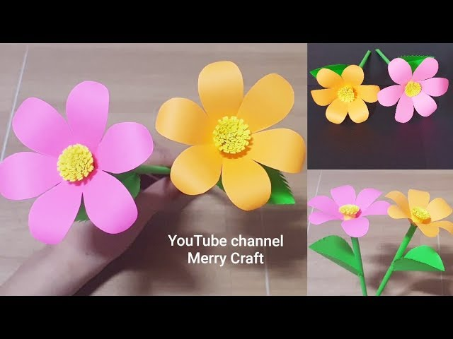 Origami flower - How to make paper flower bouquet, Origami flower ... | 480x640