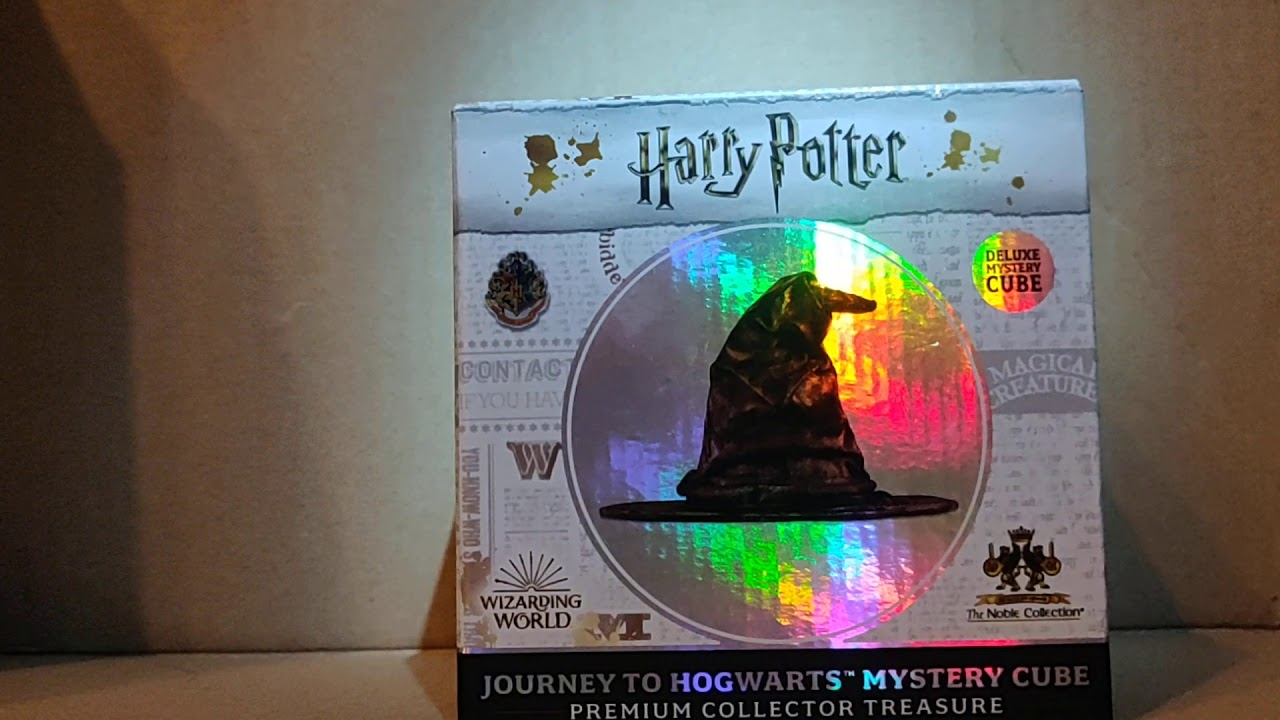 Harry Potter Mystery Cube Unboxing