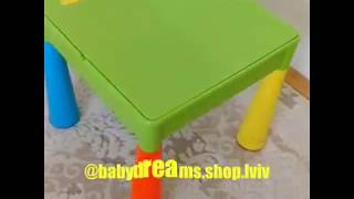 Обзор комплекта детской мебели Tega Baby Mamut
