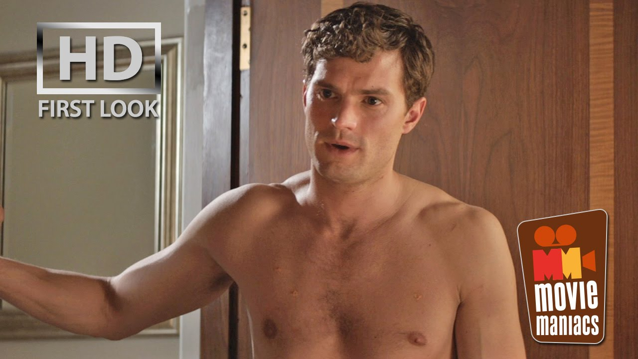 Fifty Shades Of Grey | Ana U0026 Christian In The Bedroom FIRST LOOK Clip  (2015) Jamie Dornan   YouTube