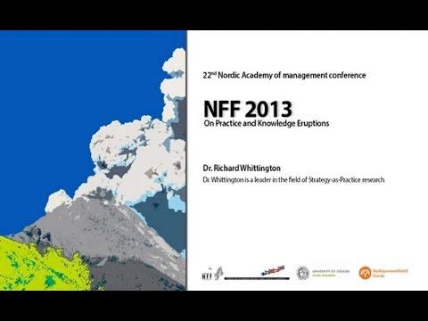 NFF Ráðstefna 2013 - Dr. Richard Whittington HD