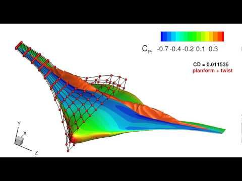 Shape and Planform Optimization of the Blended Wing Body Aircraft