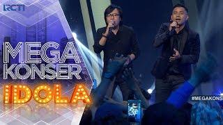 """MEGA KONSER IDOLA - Judika feat. Ari Lasso """"Mamah Papah Larang"""" [28 November 2017]"""