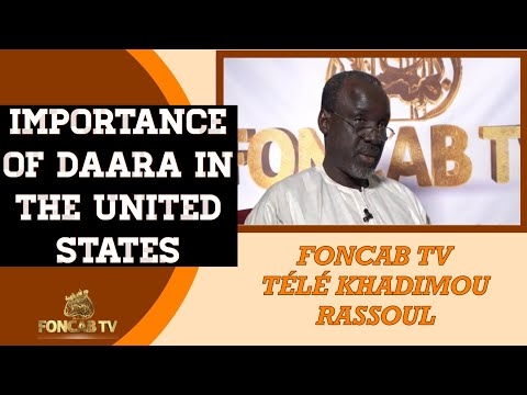 IMPORTANCE OF DAARA IN THE UNITED STATES