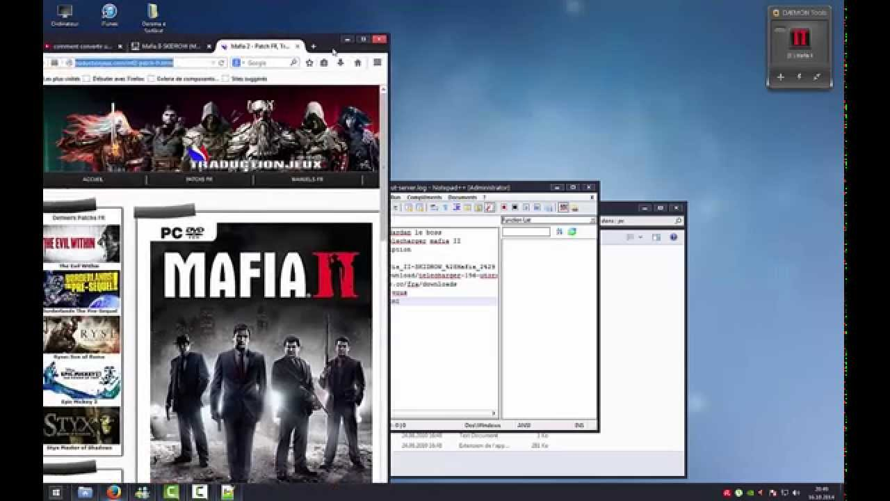 Comment telecharger mafia ii en francais youtube - Telecharger daemon tools lite gratuit francais ...