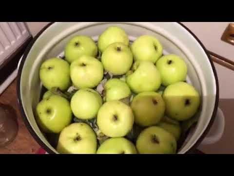фото яблоки мочёные