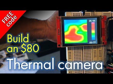 DIY Thermal Imaging Camera FREE CODE - YouTube