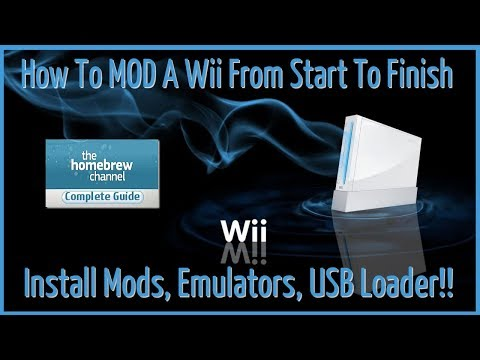 Mod A Nintendo Wii From Start To Finish 2019 - A Complete SoftMod Guide.