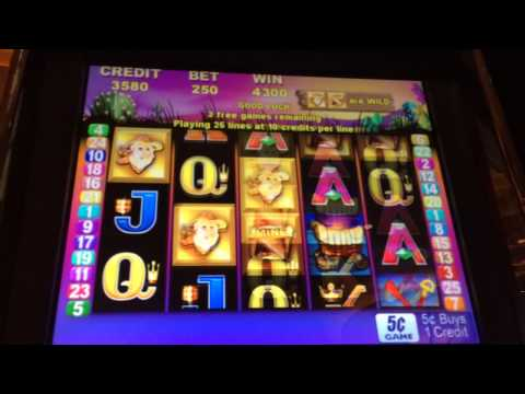 Video Vegas slots jackpot