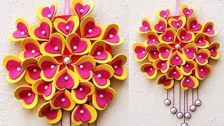 Make Easy DIY Wall Hanging from Foam Sheets   Christmas Home Decoration   StylEnrich