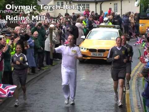 My Leg Of The Olympic Torch Relay - Riding Mill