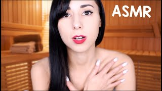 ASMR HOT SAUNA WITH YOU | Personal Attention, Massage, Washing YOU, ASMR Spa Sounds Treatment