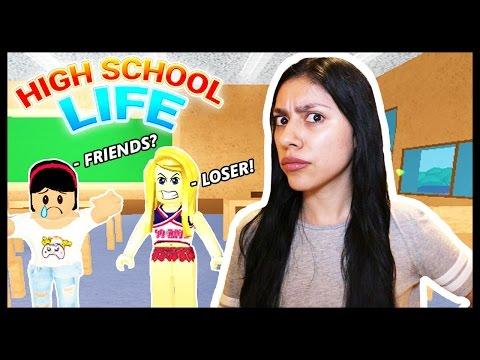 BULLIED BY A CHEERLEADER! - High School Life - Roblox